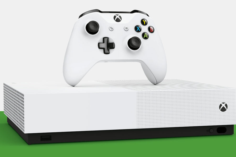 Mircosoft Goes All-Digital With Xbox One S