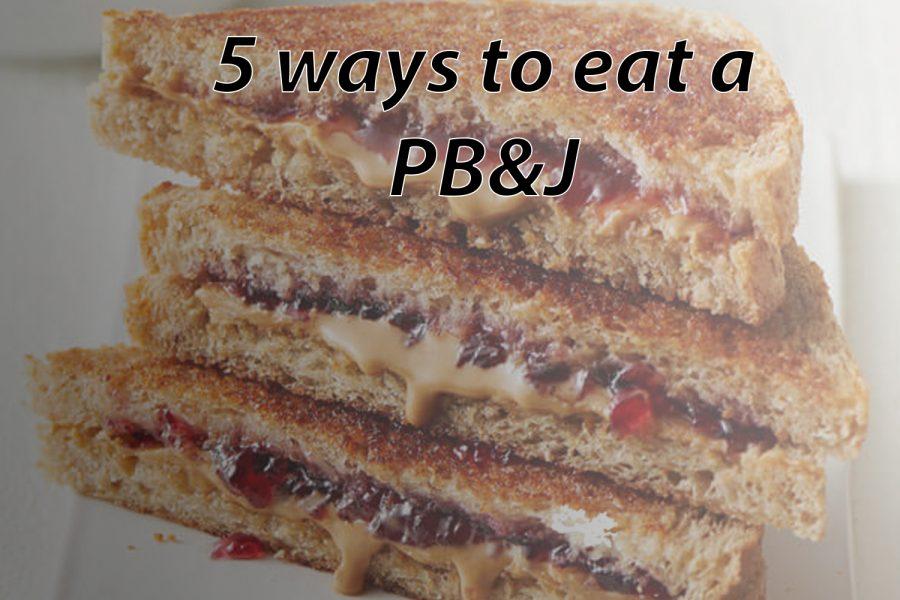 5 ways to eat a PB&J