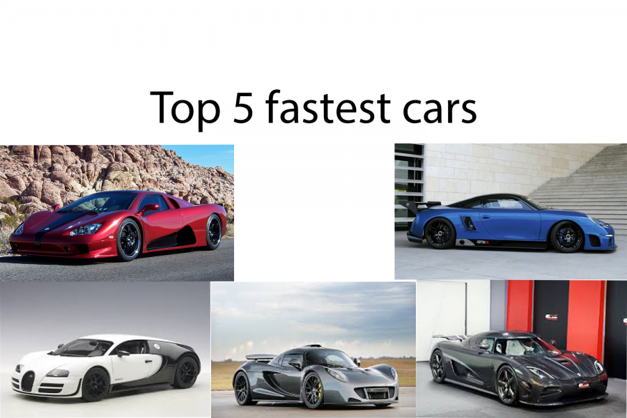 Top+5+fastest+cars
