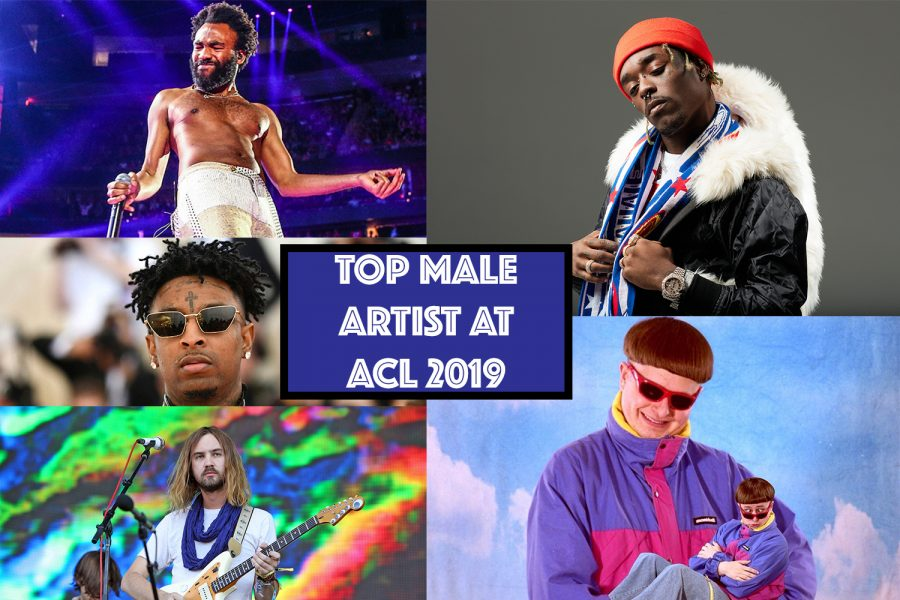 Top 5 Male Artist Performing at ACL 2019