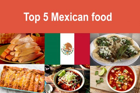 Top 5 Mexican food