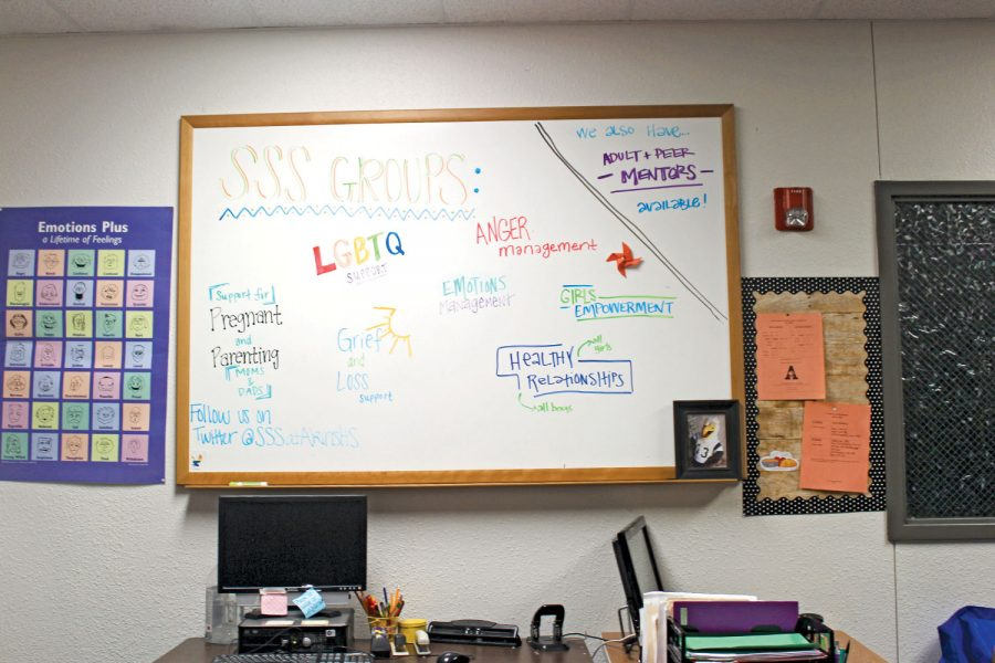 The Student Support Services office has provided students at Akins with various forms help since 2016. It's a unique program that does not exist at other Austin ISD high school campuses.