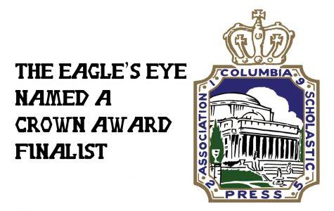 The Eagle's Eye named a CSPA Crown Finalist