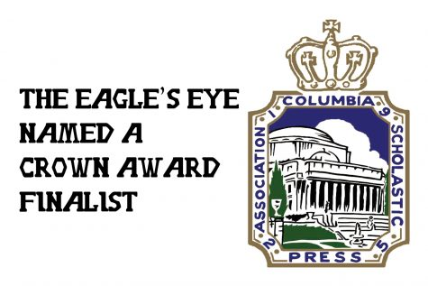 The Eagle's Eye named a CSPA Crown Finalist
