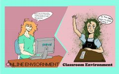 Students debate online, in-person driving school