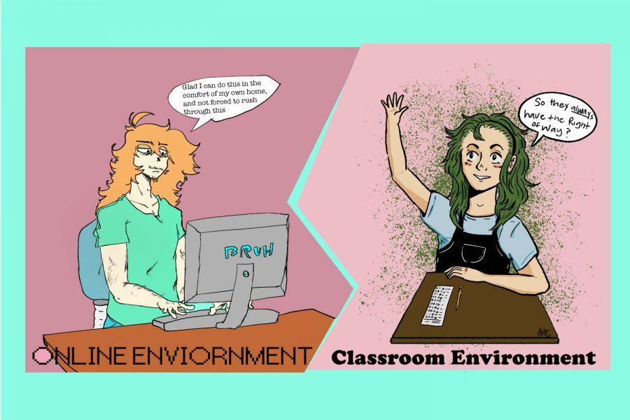 Students+debate+online%2C+in-person+driving+school