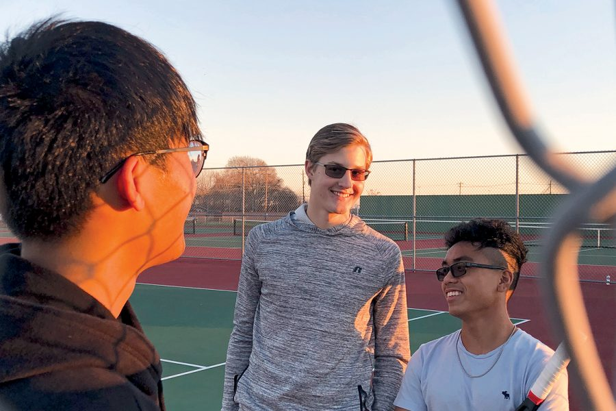 Varsity tennis team facing massive turnover next fall