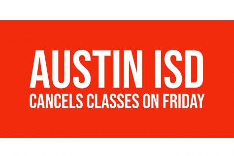 Austin ISD cancels classes on Friday