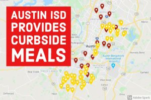 Austin ISD provides curbside, bus stop delivery meals starting Monday