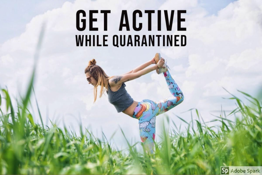 A Guide on staying active during quarantine
