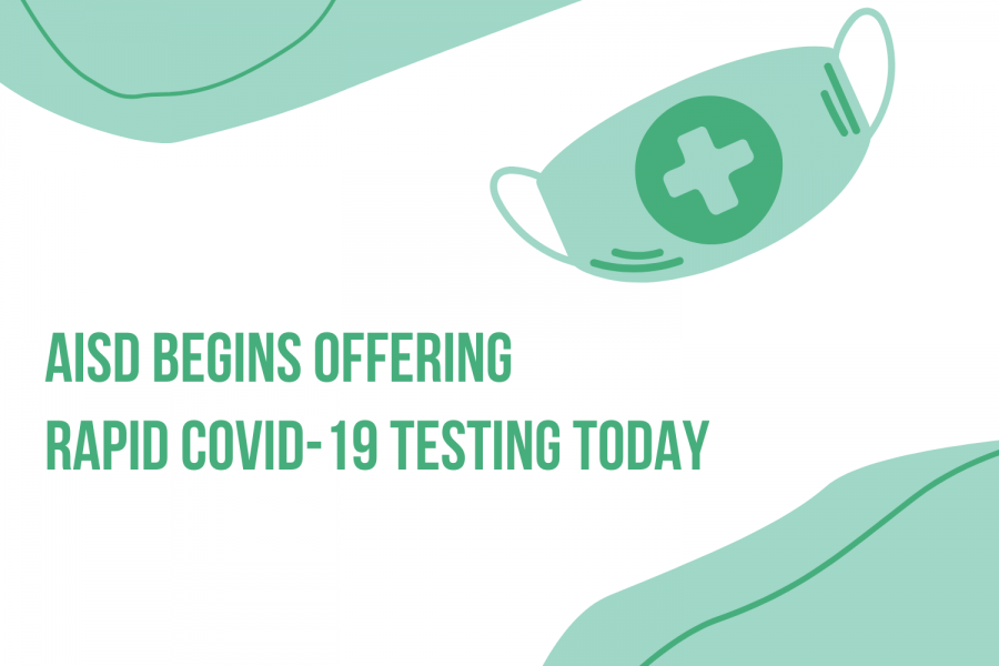 Austin+ISD+is+one+of+the+first+school+districts+to+offer+rapid+testing+that+provides+results+within+15+to+30+minutes.+Testing+is+available+starting+today.