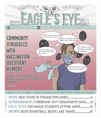 The Eagle's Eye; Issue 2; Volume 20