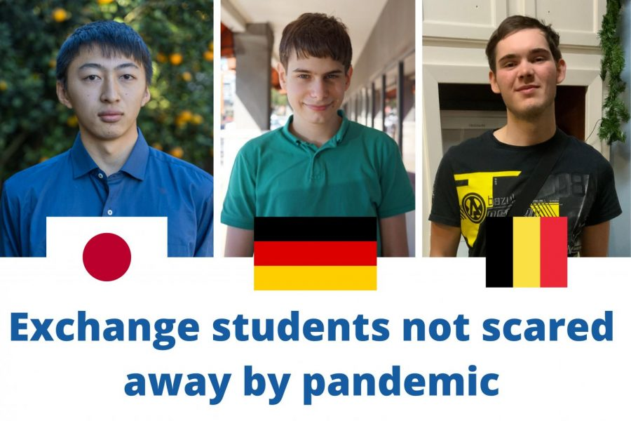 Exchange students not scared away despite pandemic
