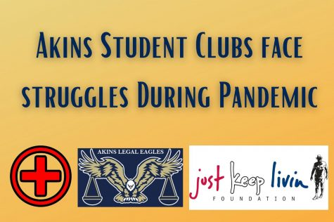 Akins student clubs offer activities despite pandemic