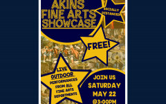 Akins Fine Arts department hosts outdoor showcase event on Saturday