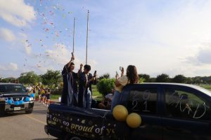Akins Senior Send-Off Parade 2021
