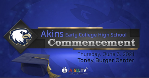 Watch the Akins graduation ceremony on Facebook Live