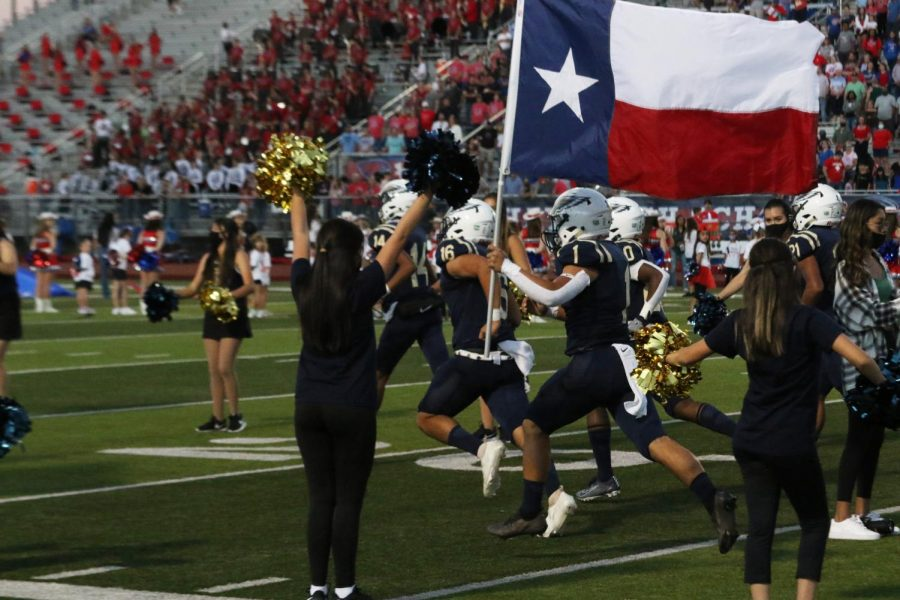 Moments from Hays vs. Akins Football Game