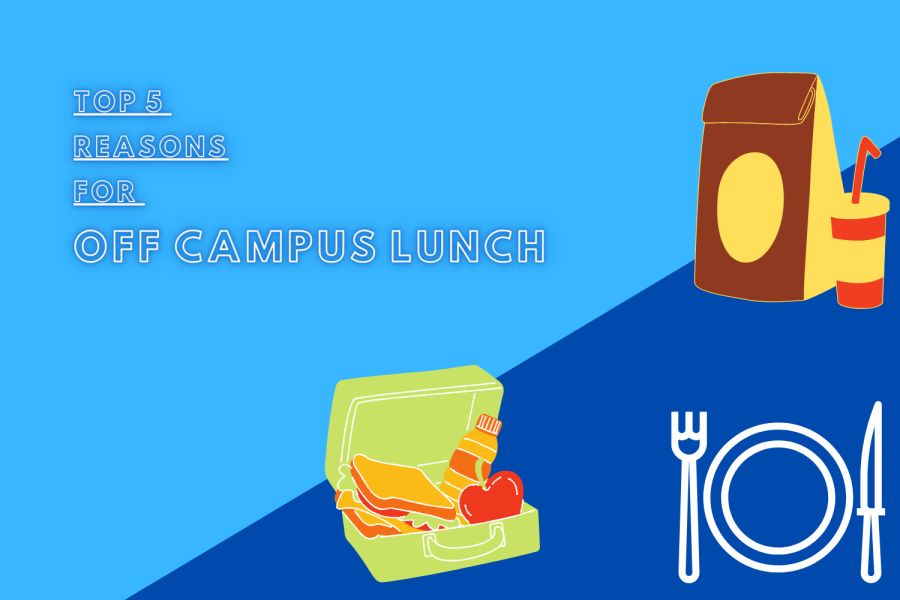 TOP 5 Off-campus lunch  Reasons