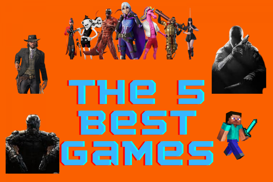 Top 5 games of all time