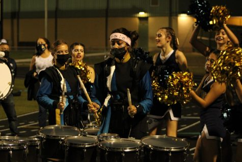 Fine Arts Show Off Spirit at Homecoming Game